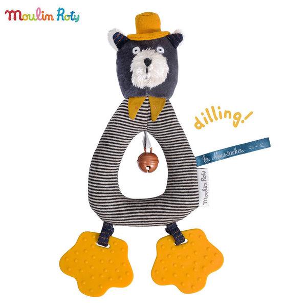 Moulin Roty Бебешка дрънкалка Коте 666012
