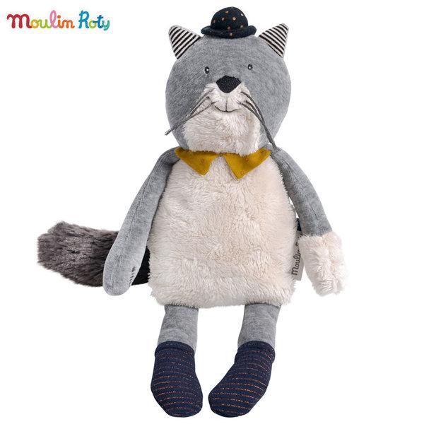 Moulin Roty Плюшена играчка коте Fernand 31см 666022