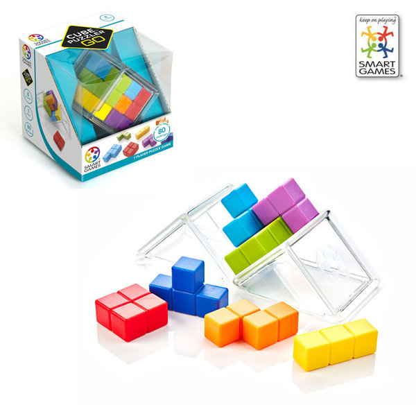 Smart Games Детска игра Cube Puzzler Go SG412 8+