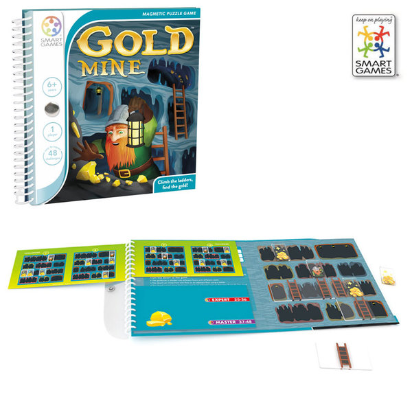 Smart Games Детска игра Goldmine SGT280 6+