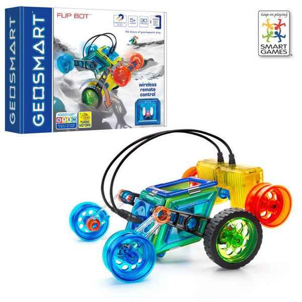 Smart Games Магнитен конструктор GeoSmart Flip Bot GEO215 5+