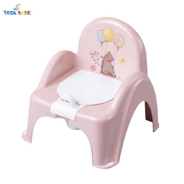 Tega Baby Бебешко гърне столче Горска приказка розово