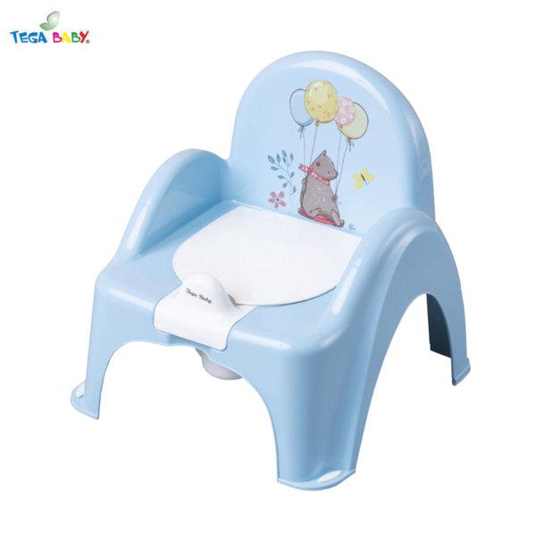Tega Baby Бебешко гърне столче Горска приказка синьо
