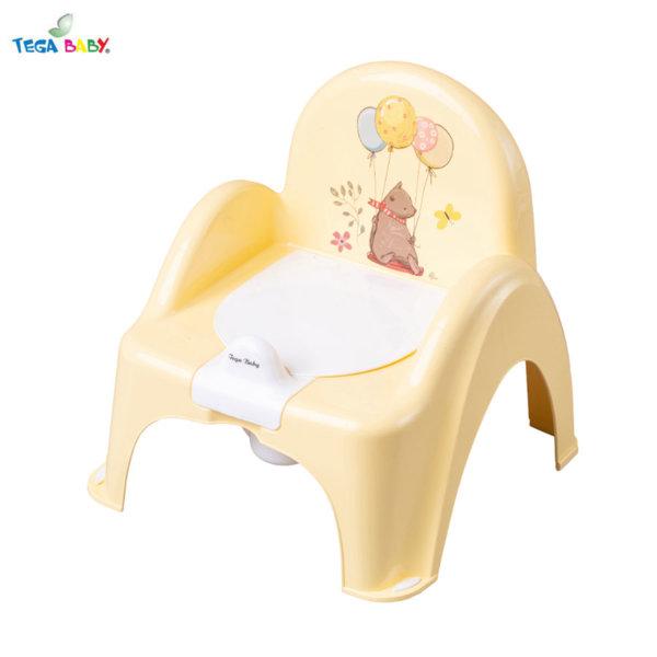 Tega Baby Бебешко гърне столче Горска приказка жълто