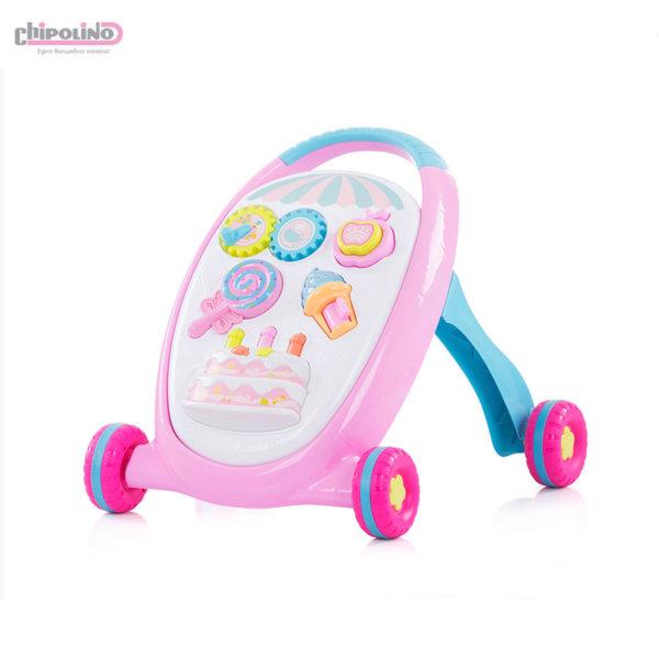 Chipolino Музикална играчка за прохождане Сладкиши MIK01804SWT
