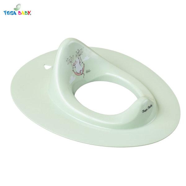 Tega Baby Детска седалка за тоалетна чиния Горска приказка зелена