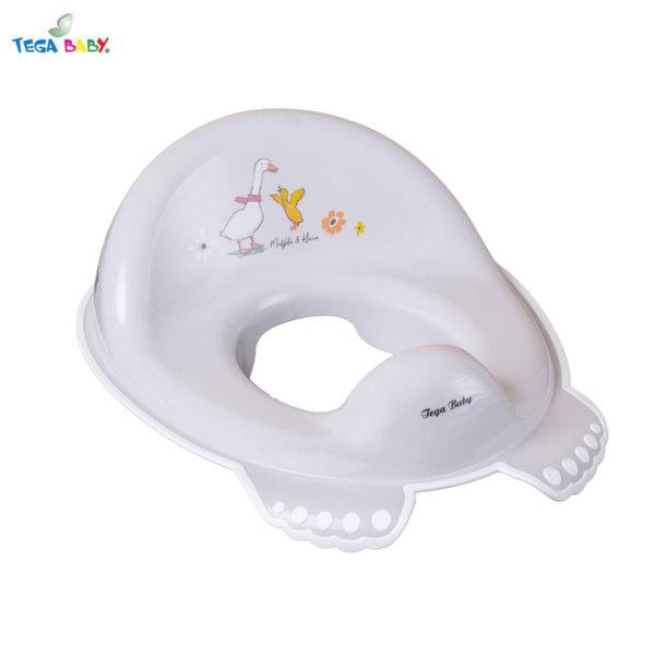Tega Baby Детска анатомична седалка за тоалетна чиния Горска приказка бежова