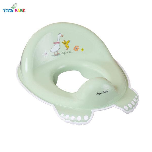 Tega Baby Детска анатомична седалка за тоалетна чиния Горска приказка зелена
