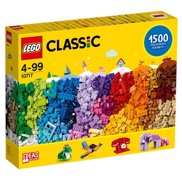 Lego 10717 Classic Много голяма кутия с тухлички