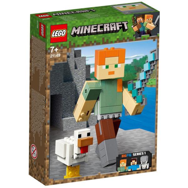 Lego 21149 Minecraft Голяма фигурка Алекс с пиле