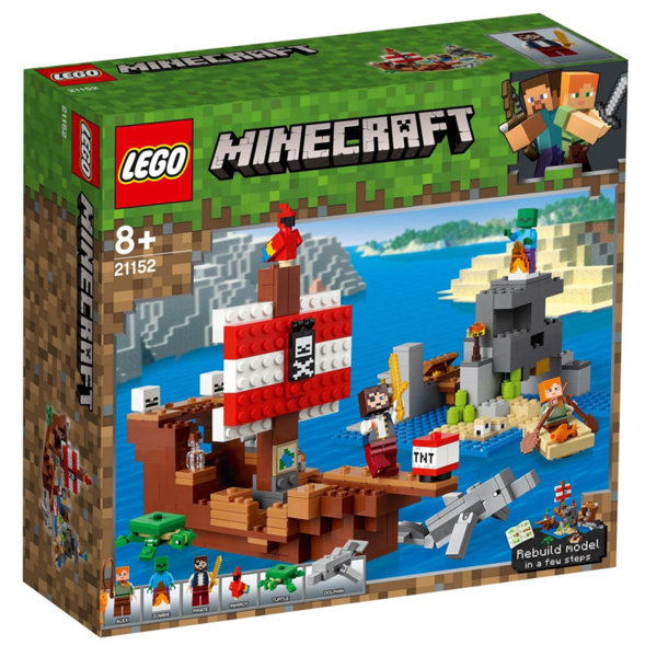 Lego 21152 Minecraft Приключение с пиратски кораб