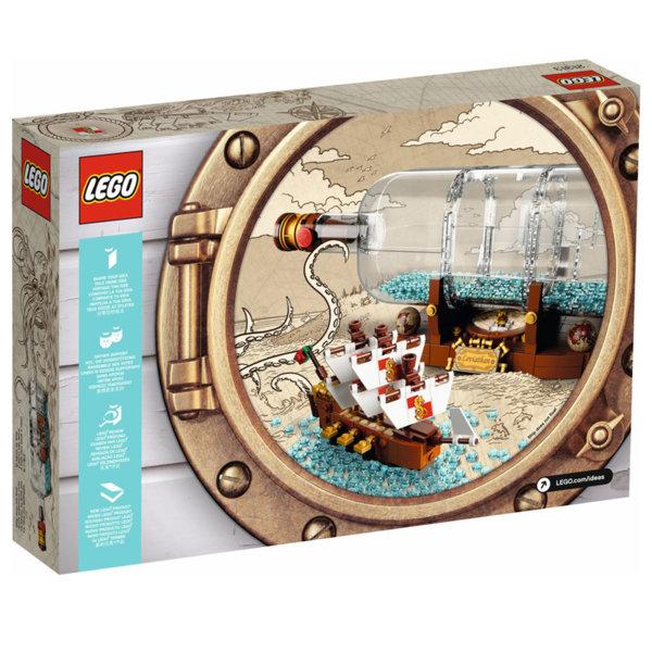 Lego 21313 Ideas Кораб в бутилка