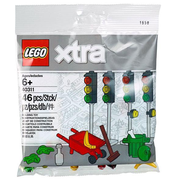 Lego 40311 xtra Светофари