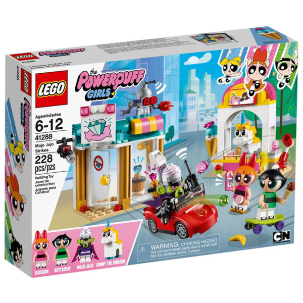 Lego 41288 The Powerpuff Girls™ Моджо Джоджо напада