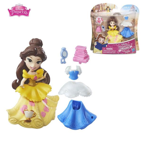 Disney Princess Малка кукла с втори тоалет Бел b5327