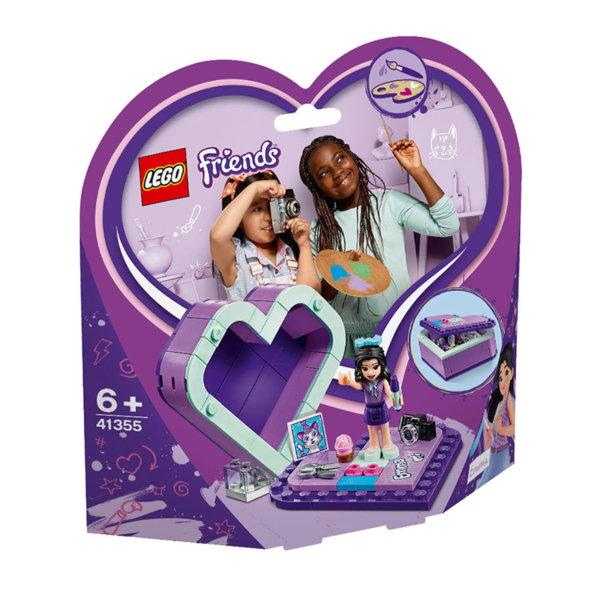 Lego 41355 Friends Кутията с форма на сърце на Emma