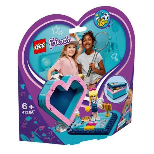 Lego 41356 Friends Кутията с форма на сърце на Stephanie