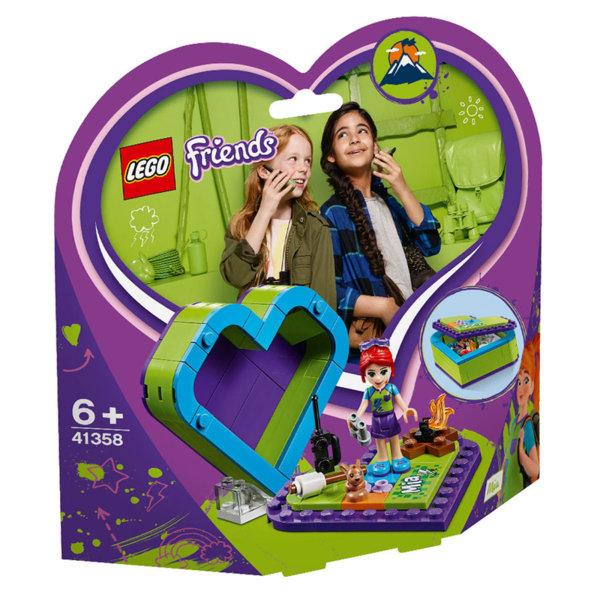 Lego 41358 Friends Кутията с форма на сърце на Mia