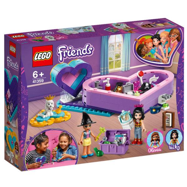 Lego 41359 Friends Кутии с форма на сърце Пакет за приятелство