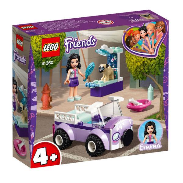 Lego 41360 Friends Мобилната ветеринарна клиника на Emma