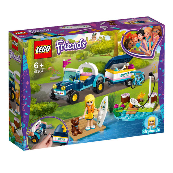 Lego 41364 Friends Бъгито с ремарке на Stephanie