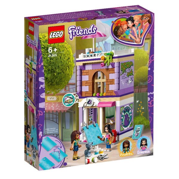 Lego 41365 Friends Творческото студио на Emma