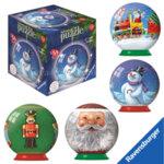Ravensburger - Пъзел топка 7+ 54 части Коледна топка 700363