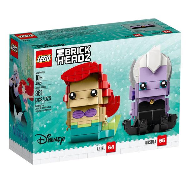 Lego 41623 BrickHeadz Disney Ариел и Урсула