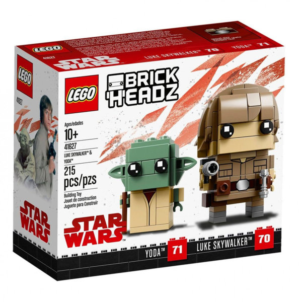 Lego 41627 BrickHeadz Star Wars Люк Скайуокър и Йода