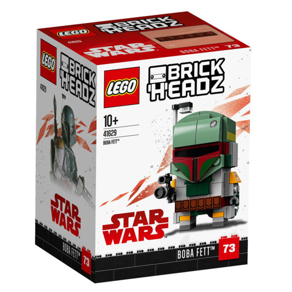 Lego 41629 BrickHeadz Star Wars Боба Фет