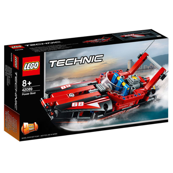 Lego 42089 Technic Моторница