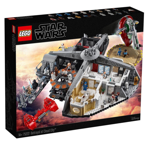 Lego 75222 Star Wars Предателство в Облачния град