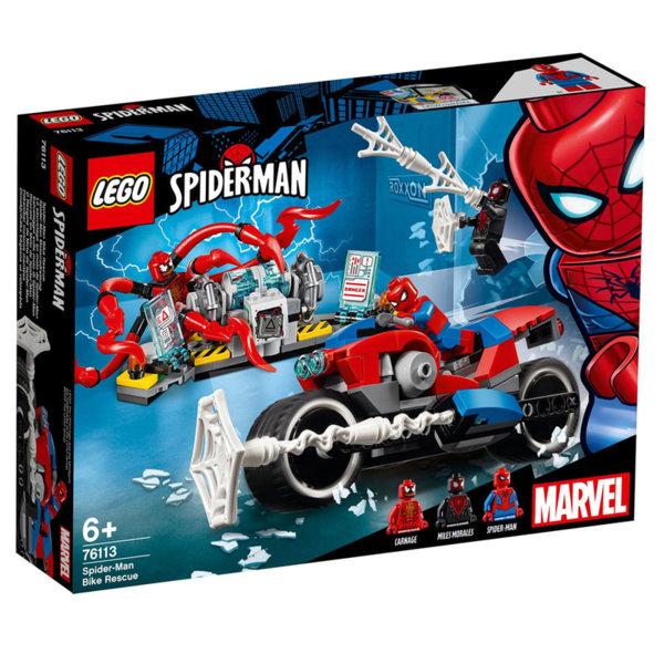 Lego 76113 Super Heroes Спайдърмен - спасение с мотоциклет