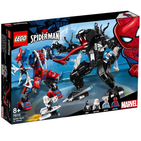 Lego 76115 Super Heroes Спайдърмен робот срещу Венъм