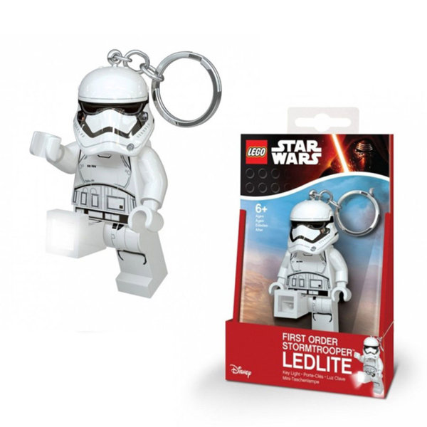 Lego Star Wars Светещ ключодържател STORMTROOPER LGL-KE94