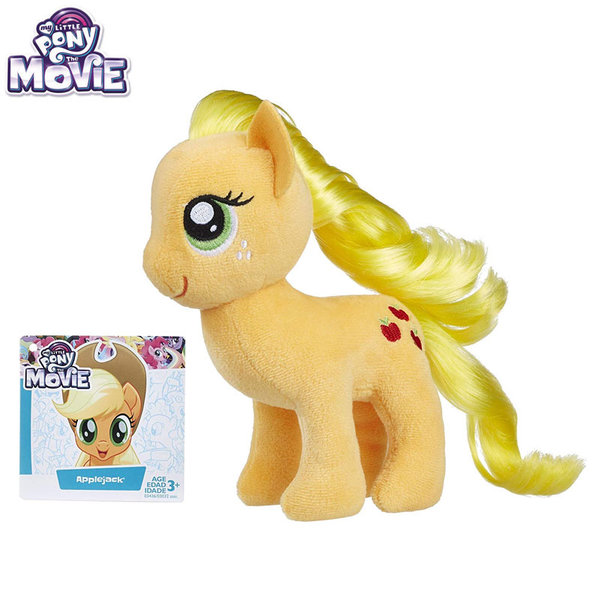 My Little Pony Моето малко плюшено пони 16см Applejack E0032