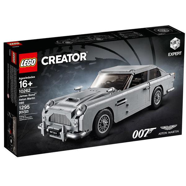 Lego 10262 Creator Expert Джеймс Бонд Астон Мартин DB5