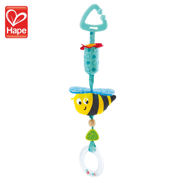 Hape Бебешка дрънкалка Пчеличка H0022
