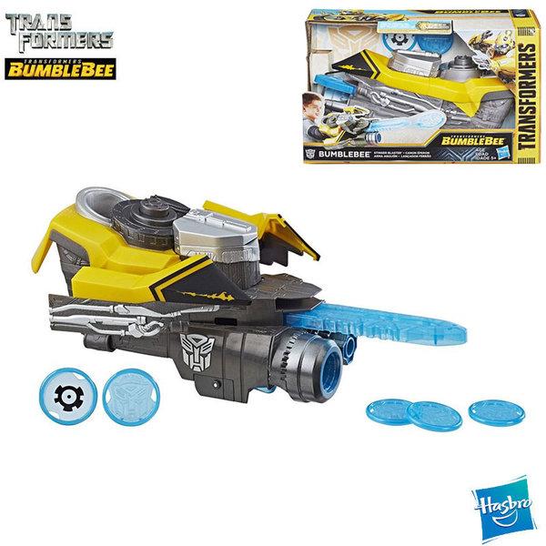 Transformers Bumblebee Оръжие изстрелващо дискове Stinger Blaster E0852