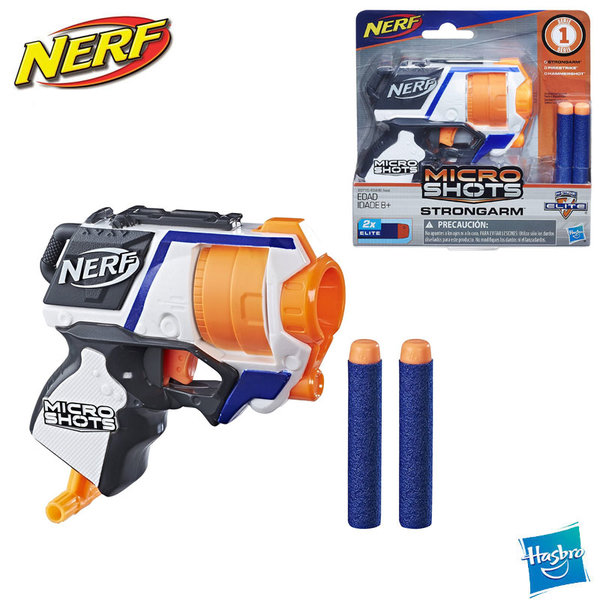 Nerf Бластер Nerf MicroShots N-Strike Elite Strongarm E0489