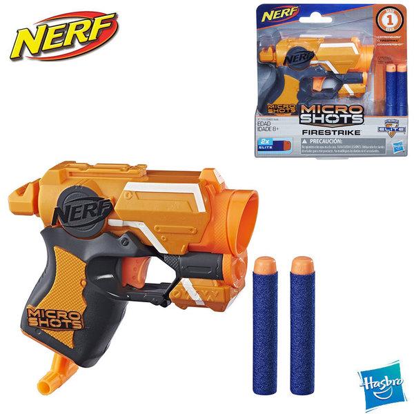 Nerf Бластер Nerf MicroShots N-Strike Elite Firestrike E0489