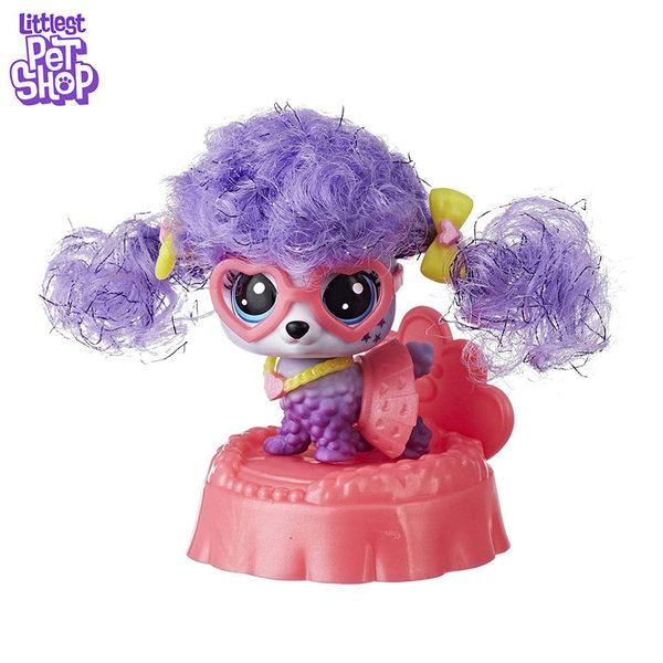 Littlest Pet Shop Премиум животинче Bebe La Poodle E2161
