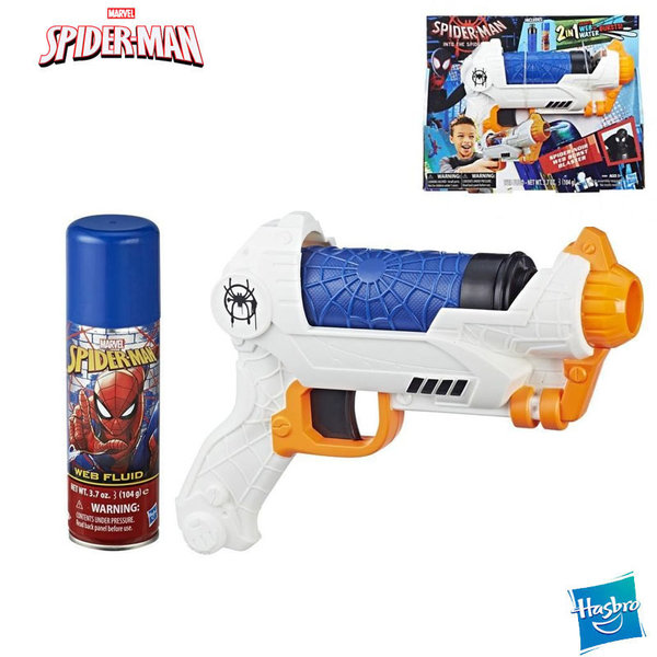 Hasbro SpiderMan Бластер за паяжина 2в1 E2902