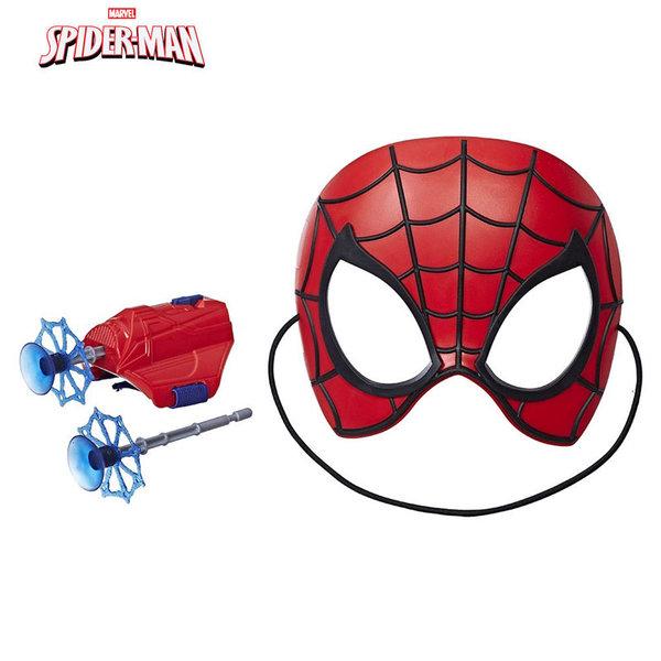 Hasbro SpiderMan Into The Verse Маска с аксесоари Спайдърмен E2844