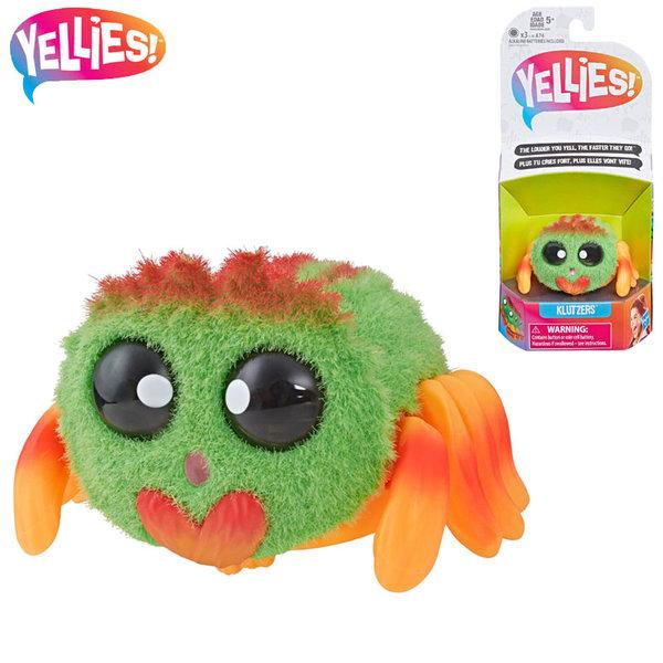 Hasbro Yellies! Интерактивно паяче Klutzers E5064