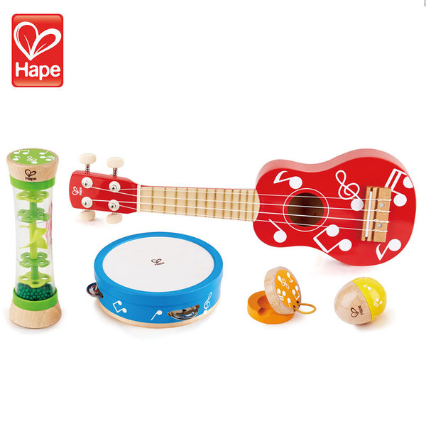 Hape Детски мини комплект музикални инструменти H0339