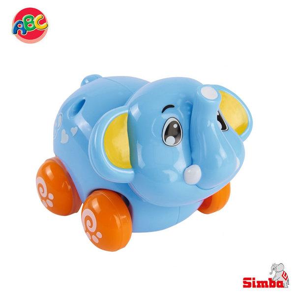 Simba Забавни животни на колелца Слонче 104012074