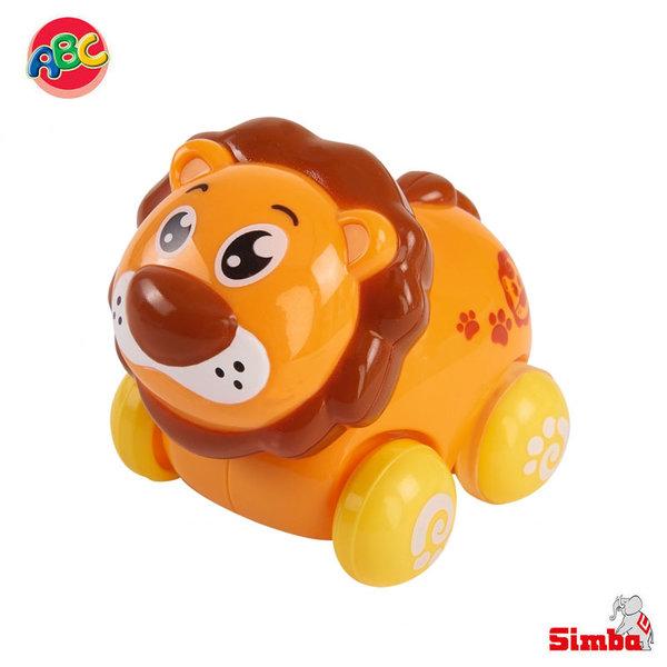 Simba Забавни животни на колелца Лъвче 104012074