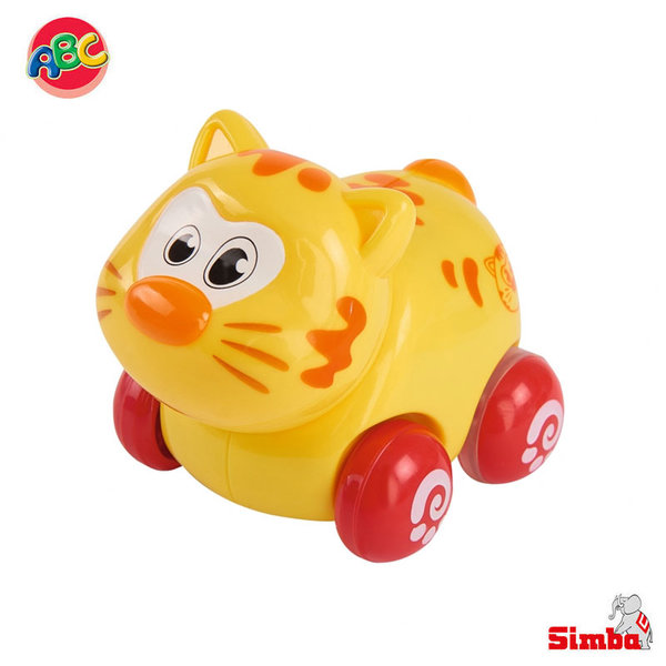 Simba Забавни животни на колелца Коте 104012074