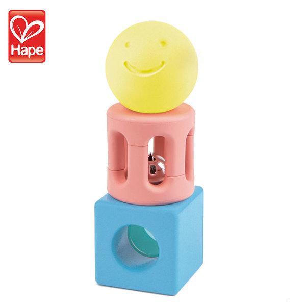 Hape Бебешка дрънкалка геометрични фигури H0454